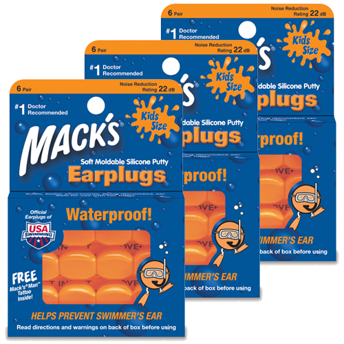 Macks Pillow Suave Niños Triplepack (SNR 20db)