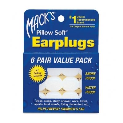 Macks Pillow suave tapones 6 pares