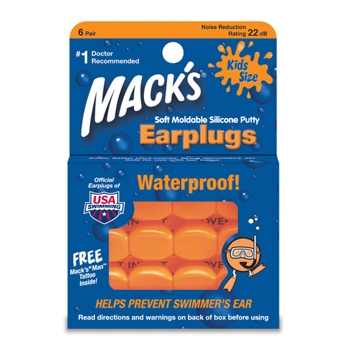 Macks Pillow Suave Niños (SNR 20db)
